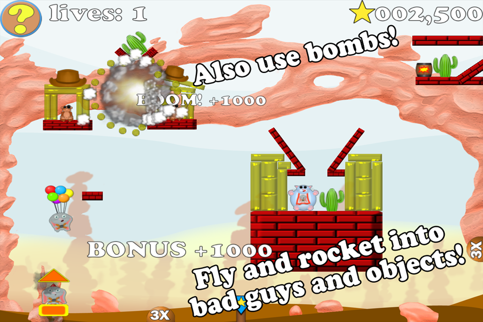 Screenshot Fly-n-BOOM! Lite