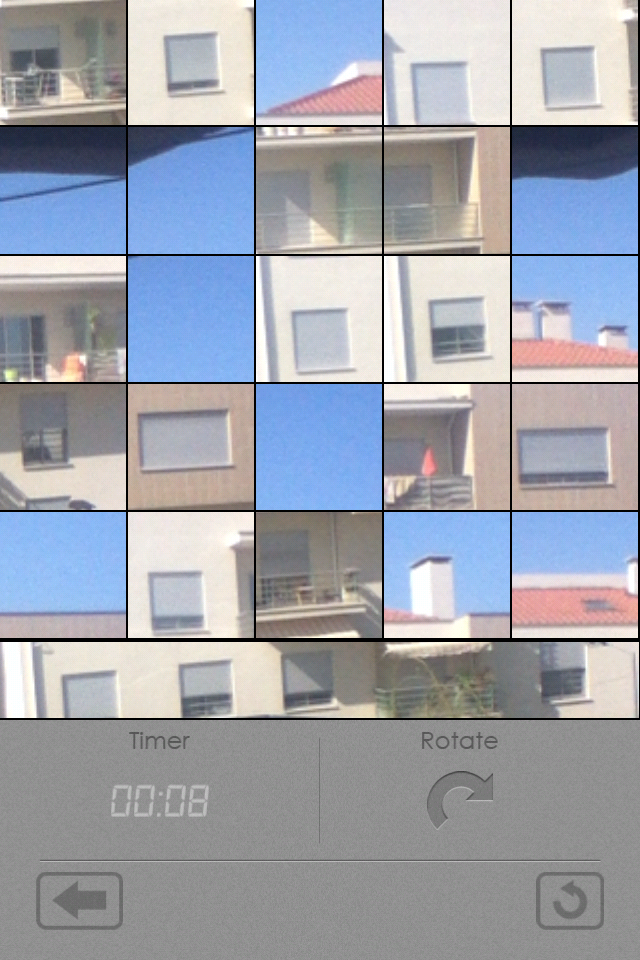 Screenshot Live video puzzle