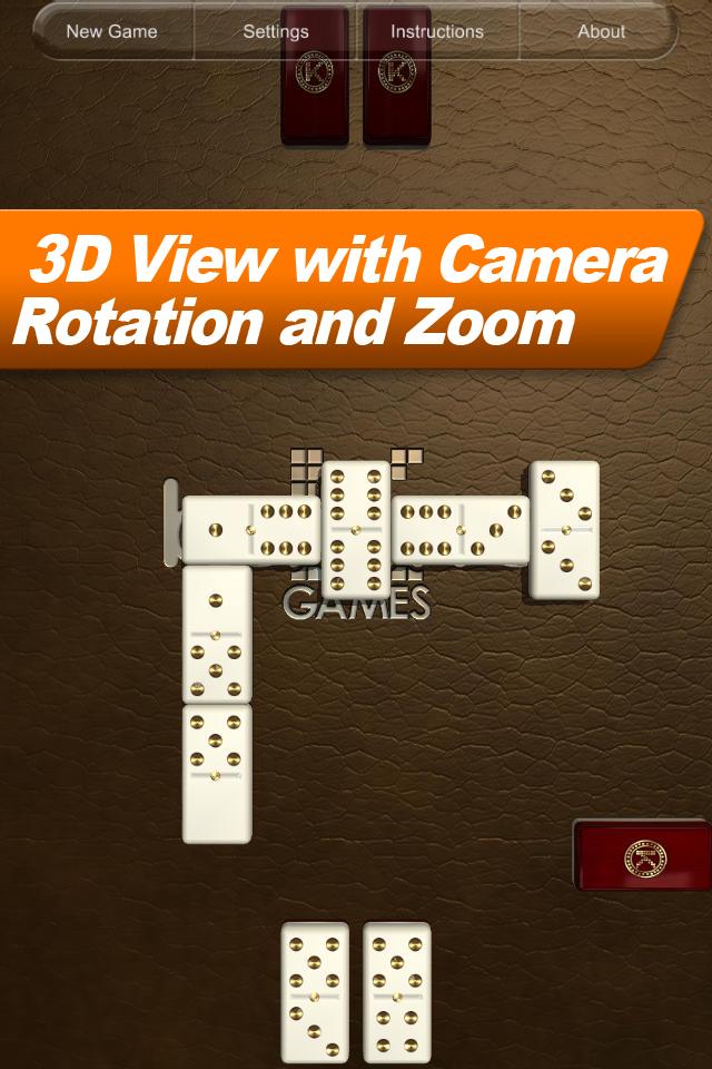 Domino HD Lite screenshot 2
